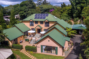 Accommodation Tamborine Mountain, Bed and Breakfast, AAA tourism rated, Tuscany on the mountain